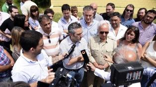 Dirigentes kirchneristas fueron a los penales donde están De Vido y Boudou