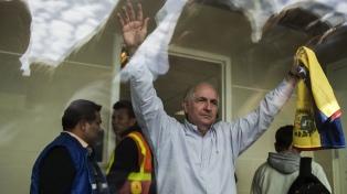 El alcalde opositor Ledezma, fugado de su prisión domiciliaria, llegará el sábado a España