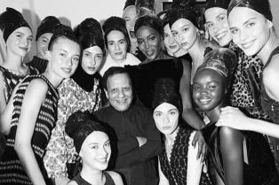 Murió el diseñador tunecino Azzedine Alaïa