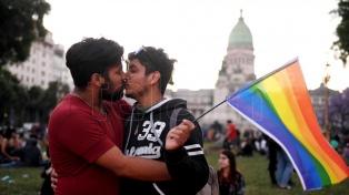 Se desarrolló la 26° Marcha del Orgullo Gay en Plaza de Mayo