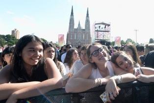 La Plata cerró a pura música los festejos de sus 135 años