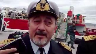 El capitán Gabriel Actis, al comando de los rastrillajes