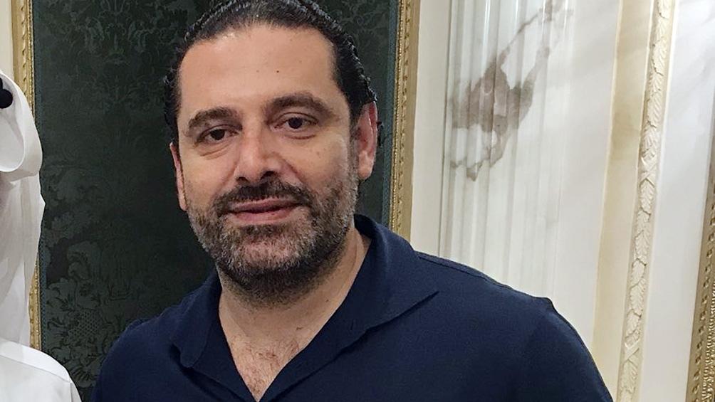 Saad Hariri, primer ministro de Líbano