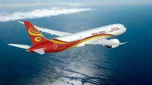 China completó el primer vuelo a EEUU usando aceite de cocina reciclado