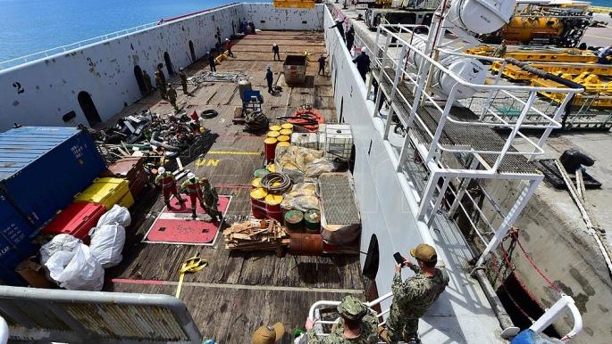 Preparan el mini submarino de la Armada de EEUU — Comodoro Rivadavia