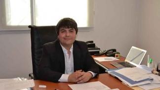 Cambaberi, administrador del puerto de Comodoro (Foto: Política Chubut)