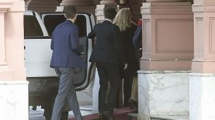 Frigerio recibe a Alicia Kirchner por el pacto fiscal