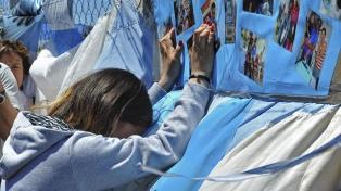 Un grupo de familiares de tripulantes del ARA San Juan recibió detalles del operativo