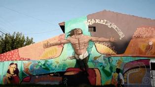 Realizan el primer encuentro de Arte Mural en Trenque Lauquen