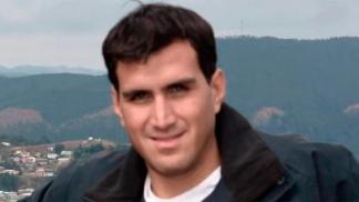 El teniente de navío Alejandro Tagliapietra