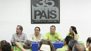 Correa está dispuesto a declarar en el juicio por corrupción contra el vicepresidente Glas