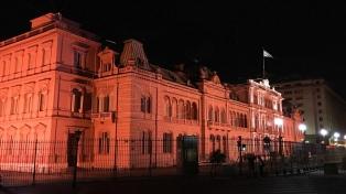 La Ciudad ilumina de naranja a monumentos en contra de la Violencia a la Mujer