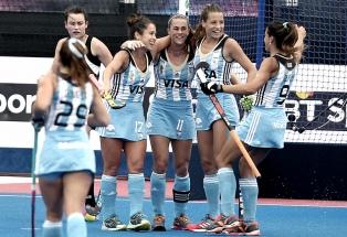 Las Leonas y Nueva Zelanda juegan un amistoso en Buenos Aires