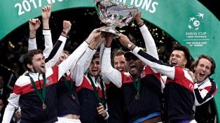 Francia logró su décima Copa Davis ante Bélgica, que dio pelea