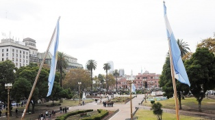 Ampliarán la Plaza de Mayo y sumarán más de 1000 m2 de espacios verdes