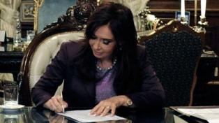Promulgan acuerdos y tratados internacionales firmados por Cristina Kirchner