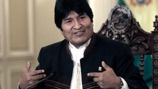 Evo Morales se comparó con Messi y Ronaldo para defender su candidatura