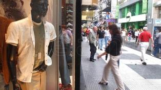 Descendió la cantidad de locales comerciales vacíos en las avenidas