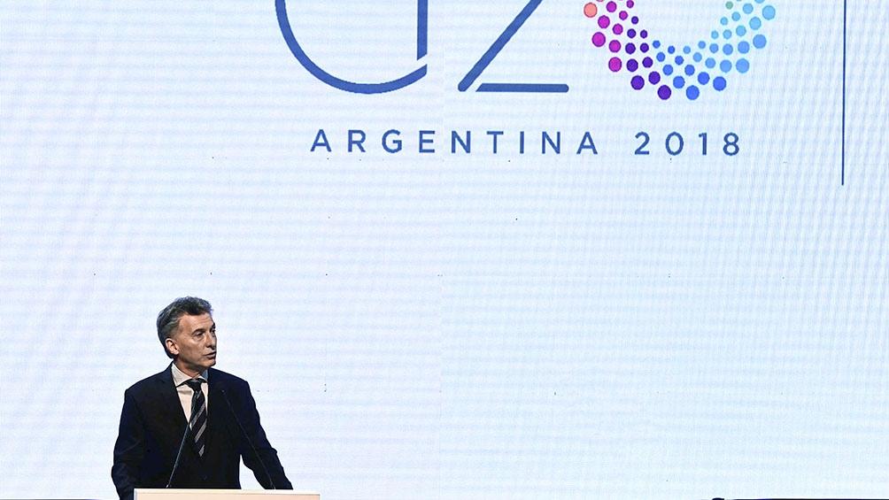Líderes de la economía mundial se reúnen en Buenos Aires