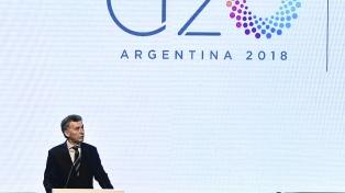 Las 10 frases destacadas de Macri al asumir la presidencia del G20