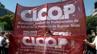 Médicos bonaerenses reclaman cumplimiento de cláusula gatillo y acuerdo paritario