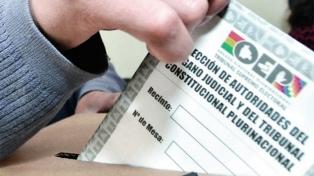 Amplio triunfo del voto nulo en la elección de jueces