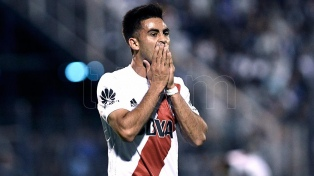 """Pity"" Martínez: ""Me siento responsable por errar el penal"""