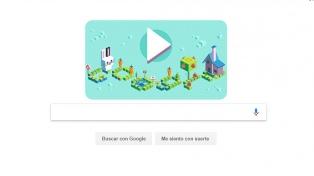 Google celebra el aniversario de Logo con su primer doodle para jugar y programar