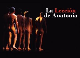 """""""La Lección de Anatomía es una obra despojada de todo artificio teatral"""""""