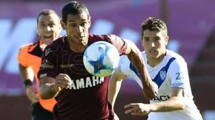Lanús y Vélez igualaron sin goles en el Sur