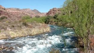 Medirán el caudal del río Atuel con estaciones telemétricas