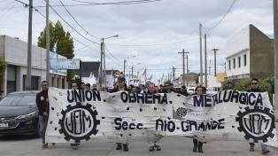 La UOM de Río Grande se bajó del acuerdo que congelaba salarios por dos años