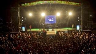 Variada oferta de espectáculos y actividades para la Fiesta Nacional de la cebada cervecera