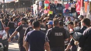 """Hubo 500 allanamientos realizados por uniformados en el complejo """"Punta Mogote"""""""