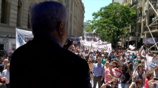 Los judiciales porteños inician un paro de 36 horas con movilización al Congreso
