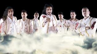 Ariel Pucheta vuelve a darle voz a la banda de cumbia Ráfaga
