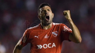 Independiente le ganó a Flamengo en la primera final de la Sudamericana