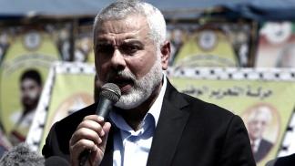 Ismail Haniyeh,  jefe del movimiento islamista palestino Hamas