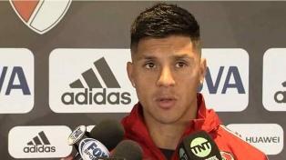 Pérez entrenó con el equipo que jugaría la final de la Copa