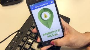"""""""Ambiente Móvil"""", una aplicación para reportar y prevenir incendios forestales"""