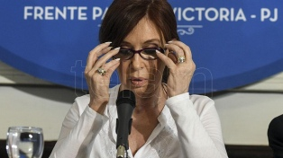 """Cristina Kirchner: """"Es una causa inventada sobre hechos que no existieron"""""""