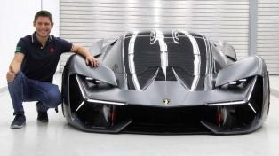 """""""Cumplí el sueño del pibe"""", dijo el fueguino que diseñó el último Lamborghini"""