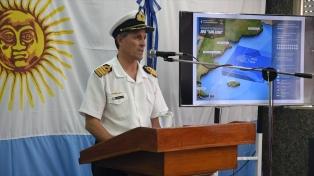 """La Armada confirmó que la búsqueda del submarino seguirá de manera """"ininterrumpida"""""""