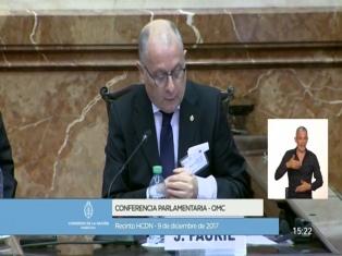"""Faurie: """"El ámbito de discusión de la atención pública a extranjeros tiene que ser el Parlamento"""""""
