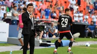 """Gallardo destacó que """"el equipo supo afrontar partidos decisivos"""""""