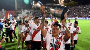 """Enzo Pérez: """"Curamos un poco la herida de la Libertadores"""""""