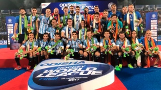 Los Leones perdieron con Australia en la final de la Liga Mundial