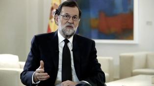 Rajoy dijo que la violencia en Cataluña en 2017 lo llevó a intervenir