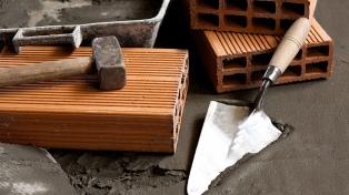 La venta de insumos para la construcción aumentó 14,3% interanual