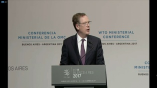 EEUU cuestionó la equidad dentro de la OMC y responsabilizó a los países emergentes